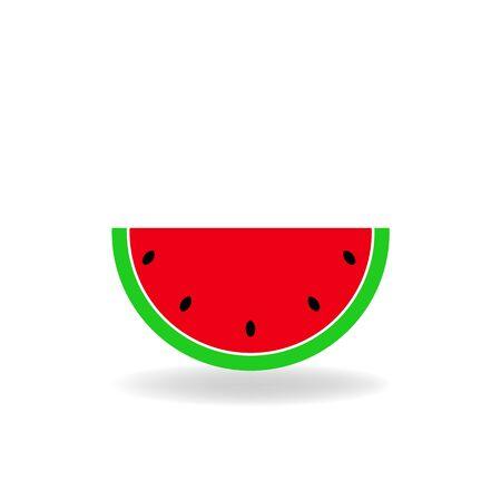 ripe: Slice of ripe watermelon.