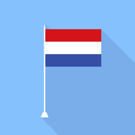 netherlands flag: Netherlands flag. Vector illustration. Illustration