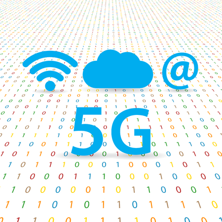 5G speed wireless internet network