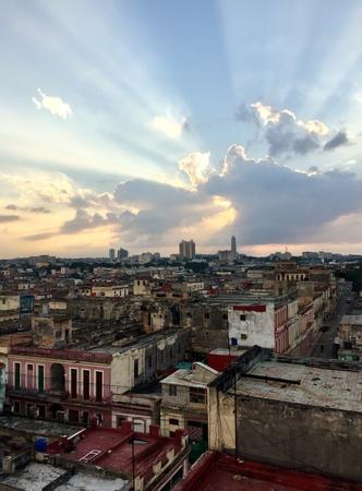 Havana! Its sky shows the beauty of the beautiful city