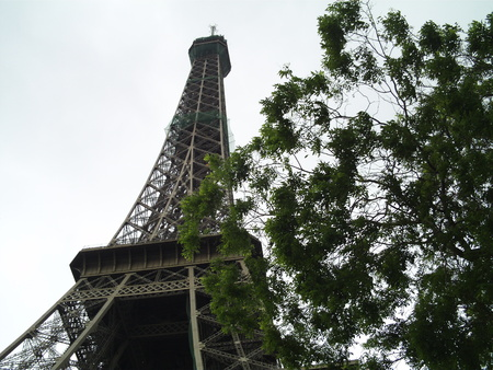The Eiffel Tower, Paris. The Eiffel Tower is the most famous monument in Paris and one of the most visited in the world.