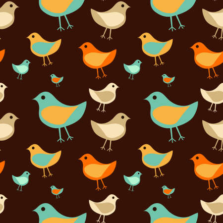 bird background Illustration