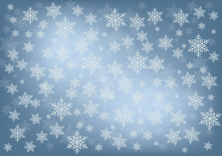 snowfall background Stock Vector - 16911476