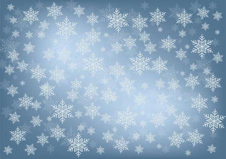 snowfall background Stock Vector - 16911476