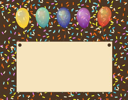 balloon text Stock Vector - 16911477