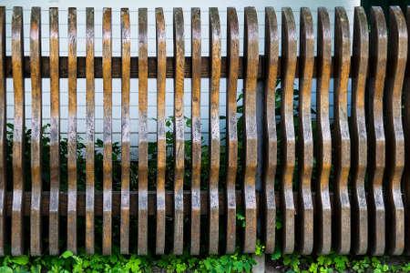 varnished: Old rustic weathered varnished wooden planks, background