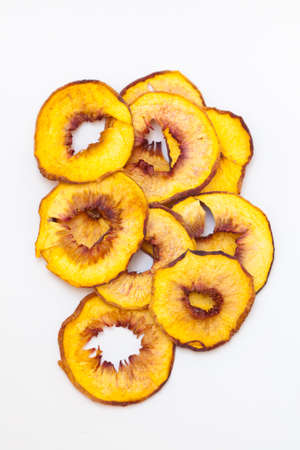 Dried peaches photo