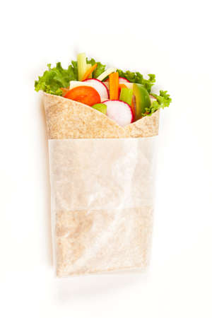 ham sandwich: Fresh tortilla wraps