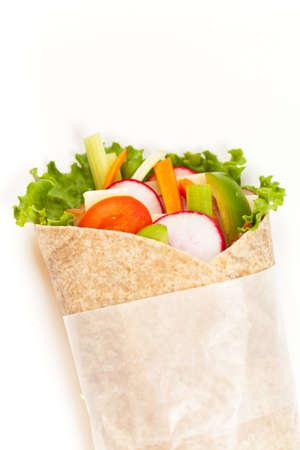 Fresh tortilla wraps  photo