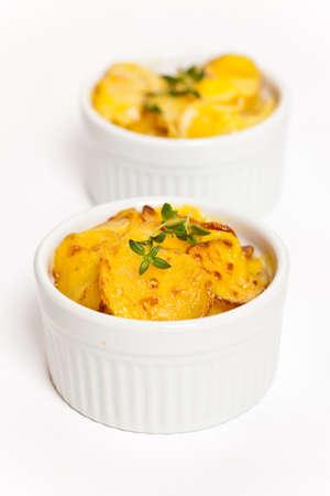 festonati: Cheesy Patate gratinate