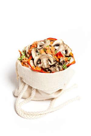 dried vegetables: Hortalizas zanahorias, champi�ones, apio, pimiento dulce rojo