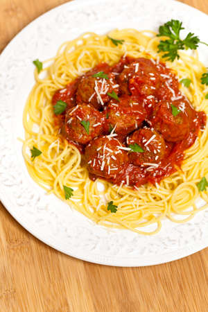 Spaghetti with Meatballs photo