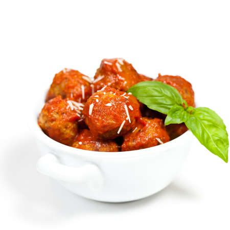 Meatballs in tomato sauce photo