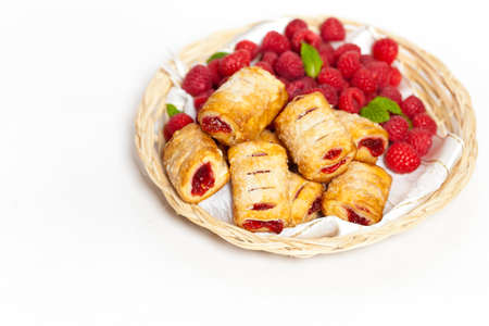 Raspberry Strudel Bites  photo