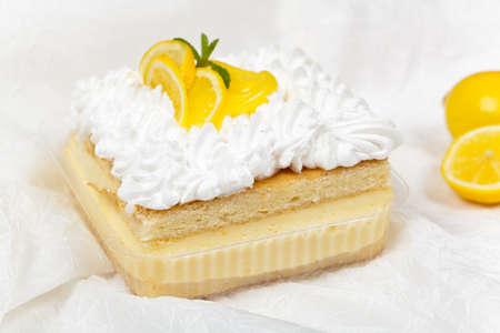 cream on cake: Lim�n, vainilla y crema Crema tarta de postre