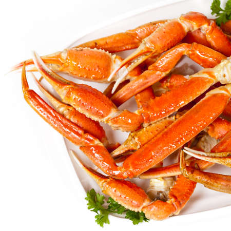 fresh snow: Snow Crab Legs