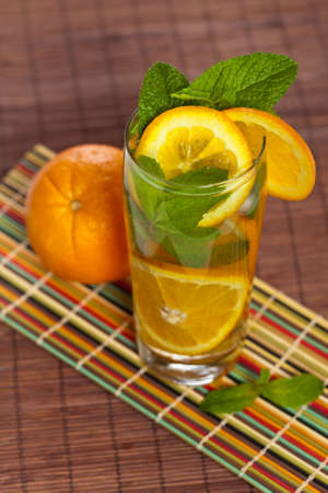 Orange Ice Tea photo