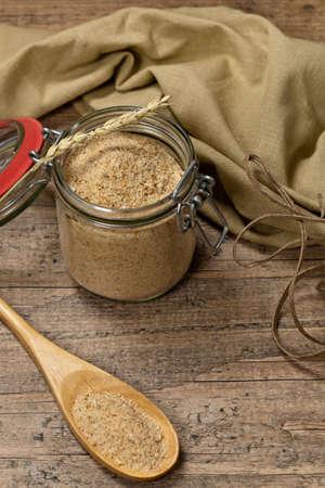 普通のパン粉。選択と集中。
