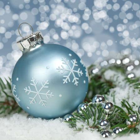 Holiday Decorations. Christmas background. photo