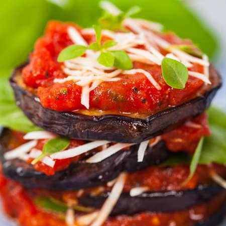 Eggplant Appetizer. Selective focus.