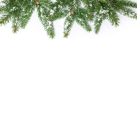 christmas decorations with white background: Holiday Decorations Christmas Background on White Background. Selective focus. Stock Photo