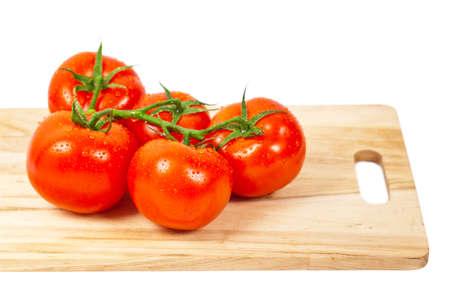 Tomatoes. Selective focus. Stock Photo