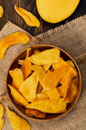 Dried Mango Fruit. Selective focus. Stockfoto