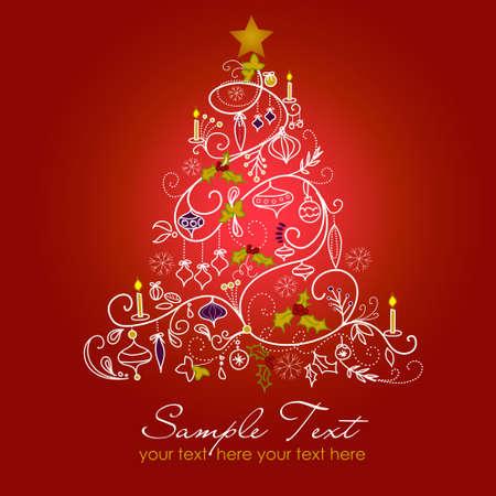 albero stilizzato: Albero di Natale