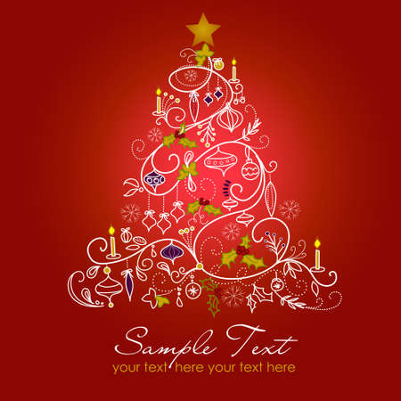 Kerstboom Stockfoto - 10796741