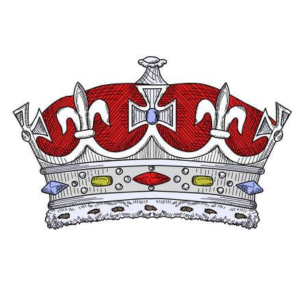 Vintage Crown  Vector