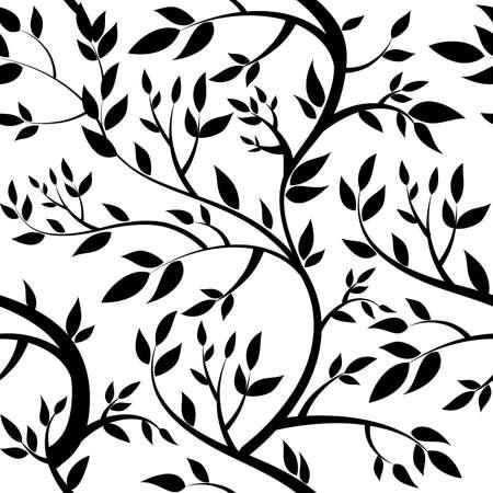papel tapiz: sin fondo de pantalla - hojas negro