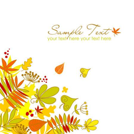 szeptember: Gyönyörű őszi lehullott levelek