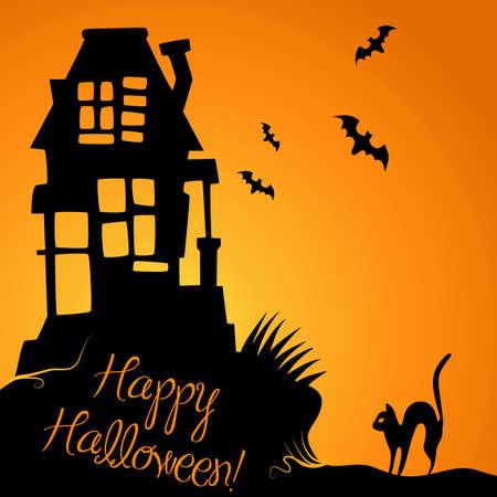 halloween background: Halloween Background  Illustration