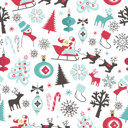 christmas seamless pattern: Christmas seamless pattern