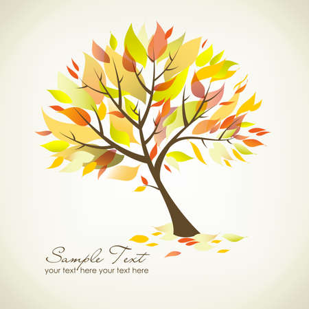 leafage: Beautiful Autumn Tree