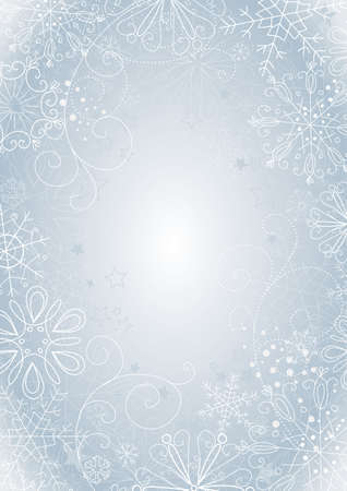 silver christmas: silver christmas background