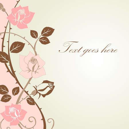Design floral Banque d'images - 11121104