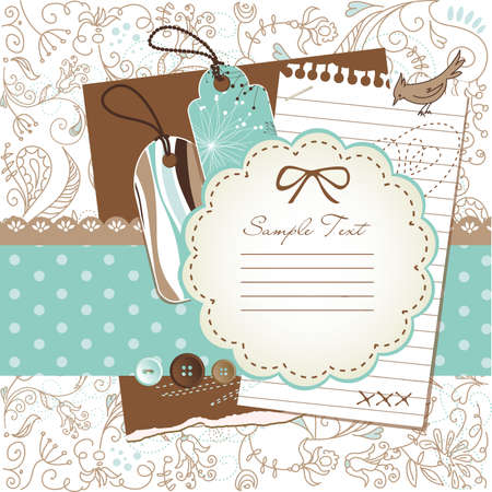 whimsical: scrapbook elements