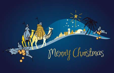 jesus birth: Natividad Vectores