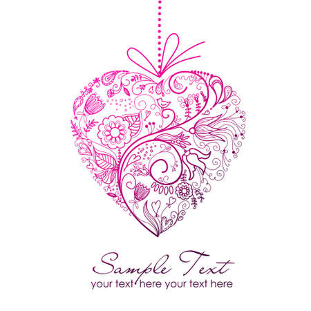 valentine card Stock Vector - 11150269