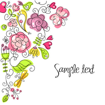 Summer doodles Stock Vector - 11150385