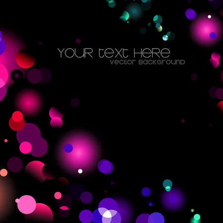 glittering lights background Stock Vector - 11150486
