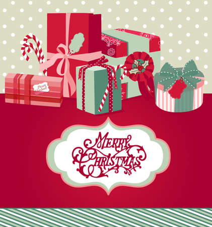 Christmas background Stock Vector - 11419726