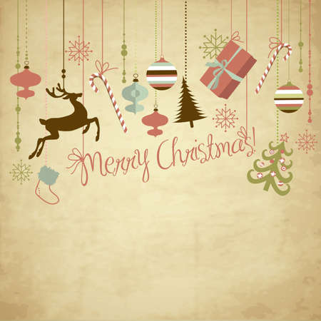hristmas background  Vector