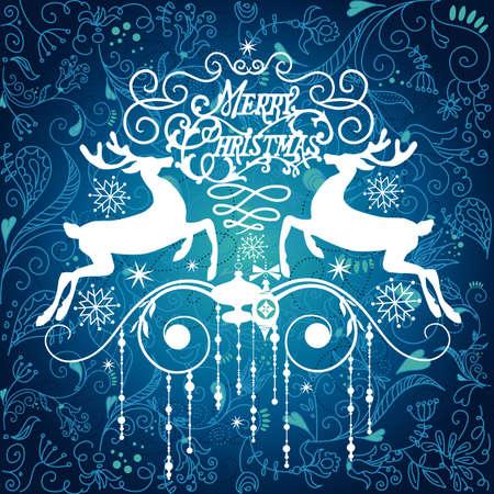 deers: Ornamento de Navidad