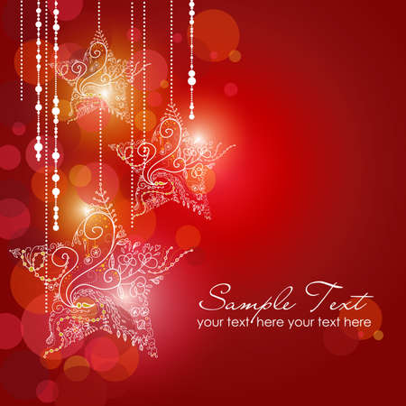 Christmas Strars background Stock Vector - 11419739