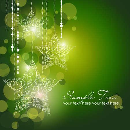 festive: Christmas Stars background