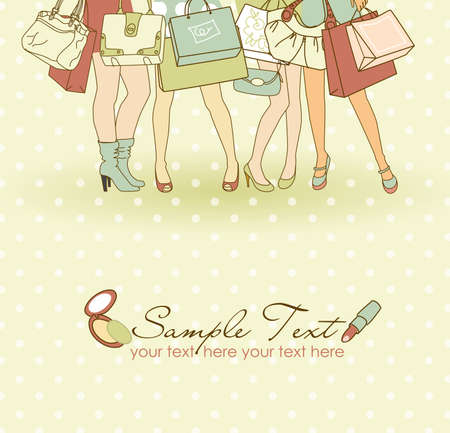 Shopping girls  photo