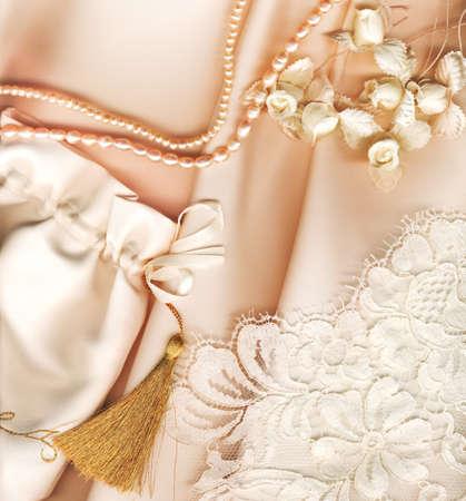 textile wedding background photo