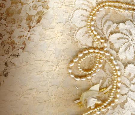 lace: de fondo de la boda de textiles